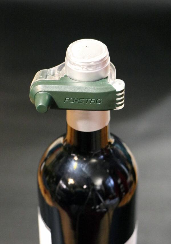 Forstag Vin sur bouteille vue de haut