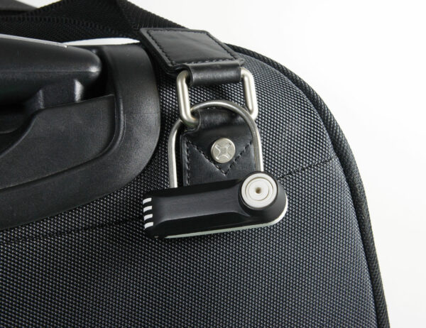Forstag Padlock 2 on suitcase