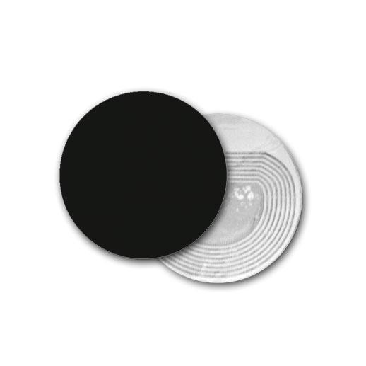Étiquette RF Ronde Noire