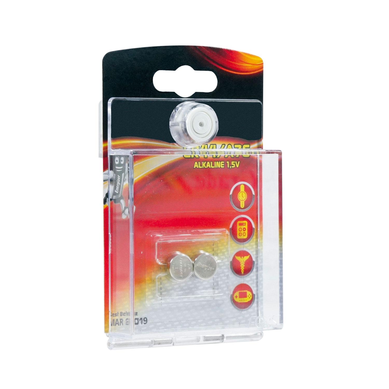 Boîtier Blister avec piles bouton