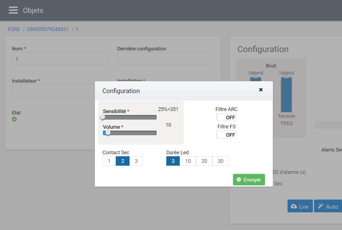 ForsCloud | Configuration du système
