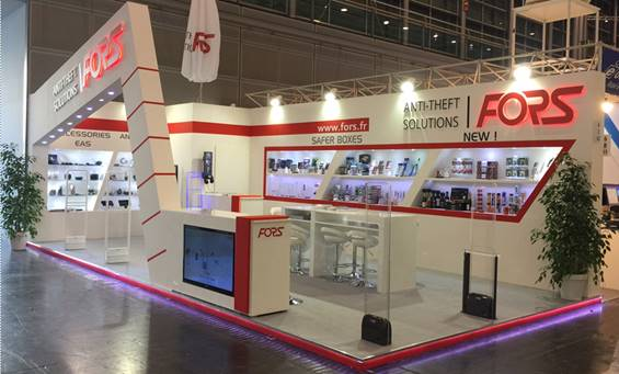 Fors stand in Euroshop trade fair 2017