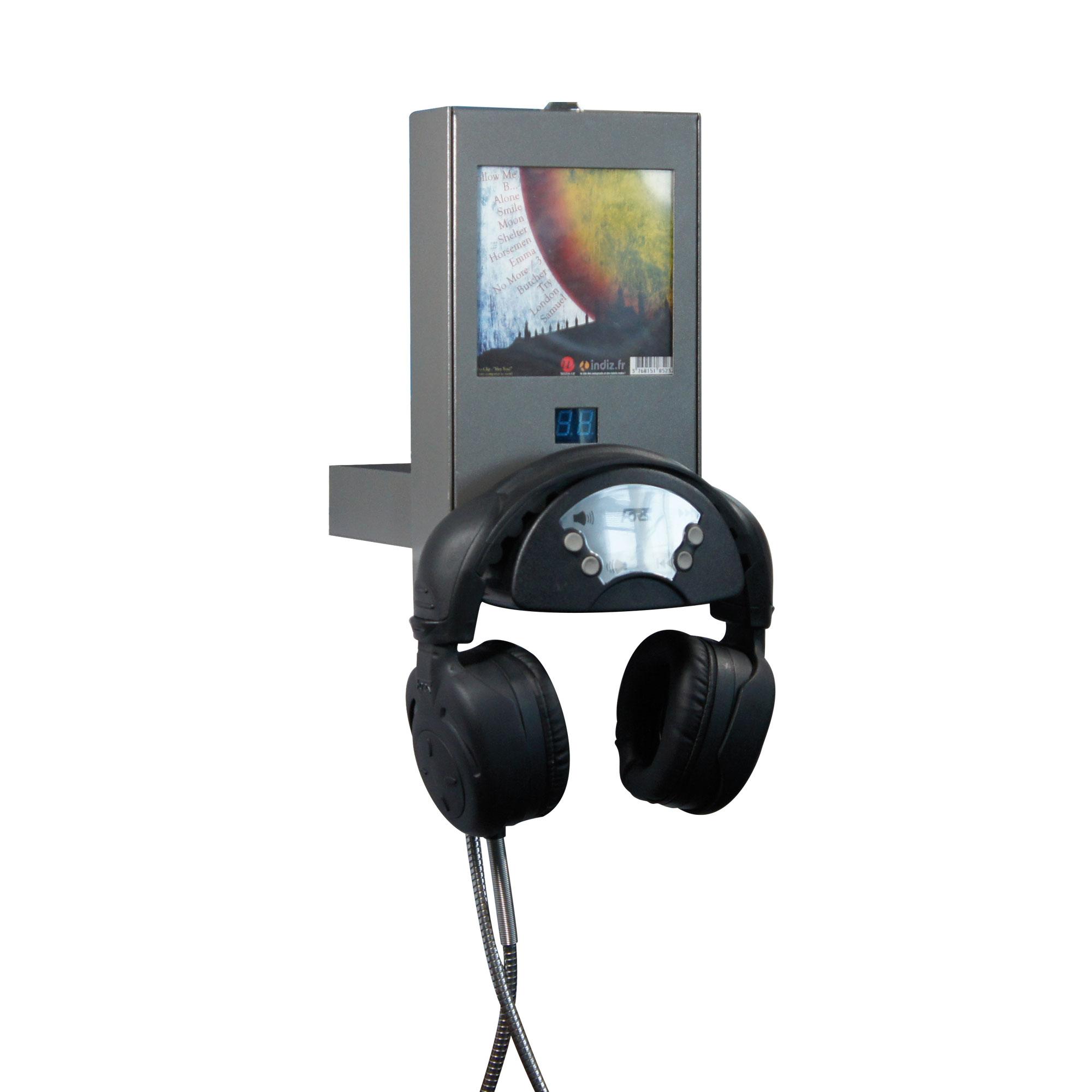 Borne d'écoute Monolux (1 CD)