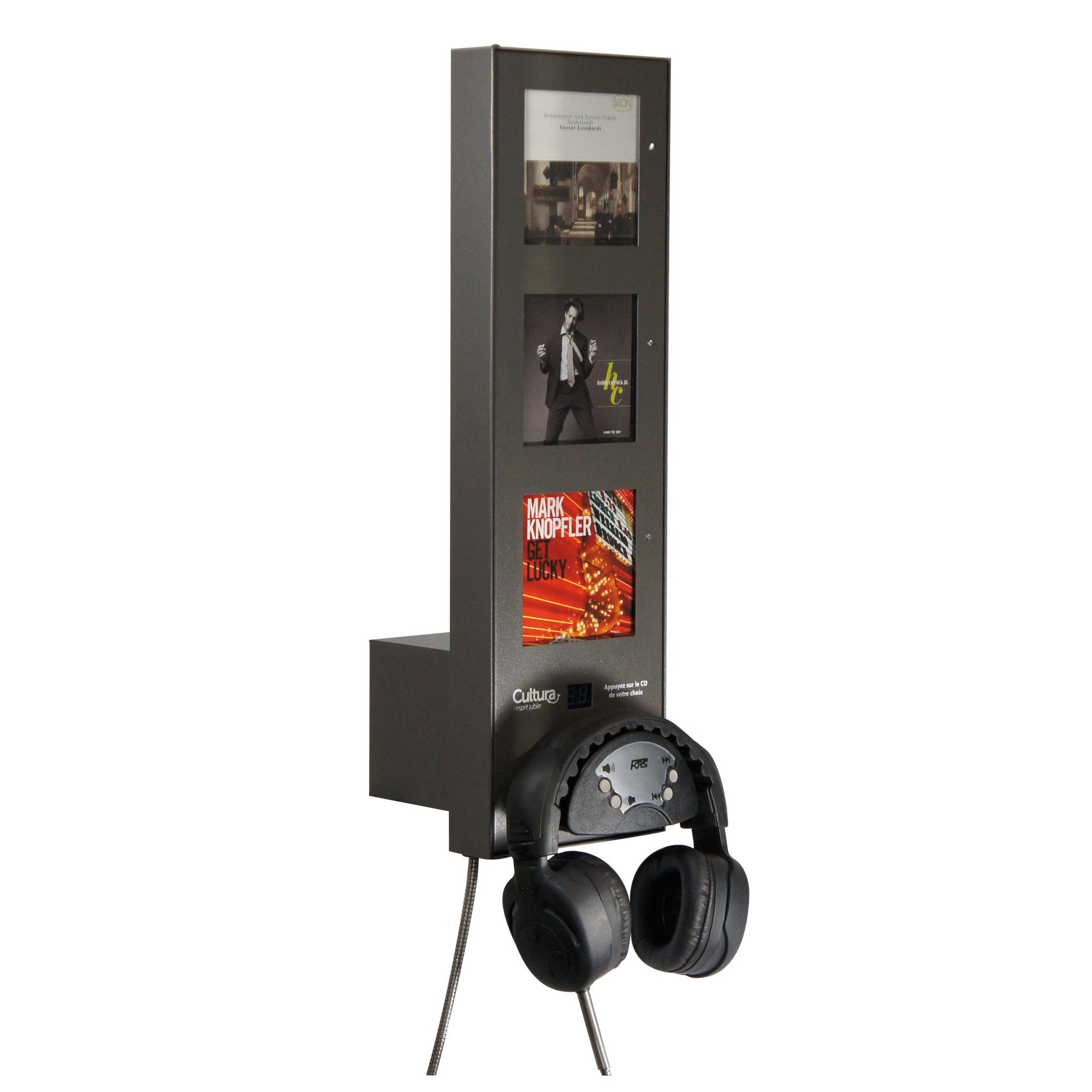 Borne d'écoute Multi (3CDs)